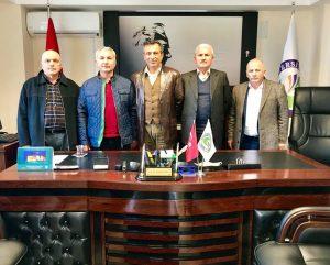 Prof. Dr. Feridun Tekin'i Zayaret Ettik.